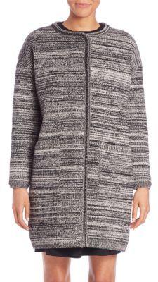 Max MaraTarallo Mélange Knit Coat