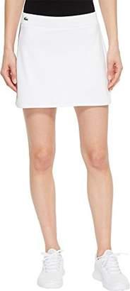 Lacoste Women's Sport Tech Skirt with Stripe