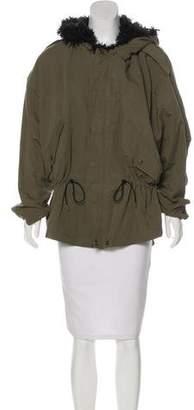 Smythe Shearling Short Coat w/ Tags