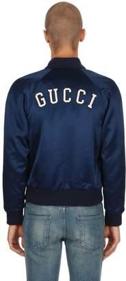 Gucci Ny Japanese Acetate Bomber Jacket
