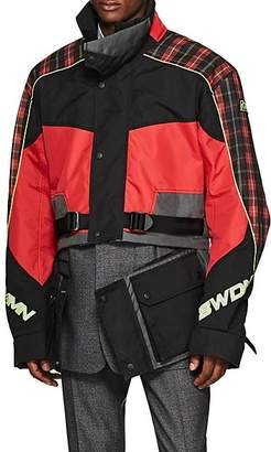 Cmmn Swdn Men's Roman Oversized Motocross Jacket - Red