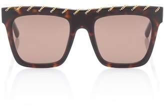 Stella McCartney Falabella Chain square sunglasses