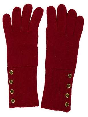 MICHAEL Michael Kors Knit Embellished Gloves