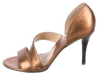 MICHAEL Michael Kors Metallic Leather Sandals