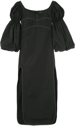Ellery Sky High bubble sleeve dress
