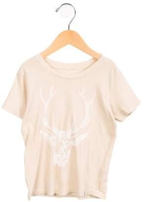 Atsuyo et Akiko Girls' Crew-Neck Short Sleeve T-Shirt