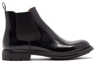 Church's Genie Patent Leather Chelsea Boots - Womens - Black