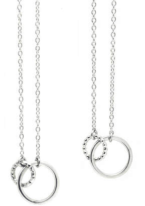 5d44aa04c Marion Made Jewellery Sterling Silver Eternity Circle Necklace