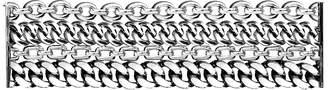 Ralph Lauren Silver 4-Chain Bracelet
