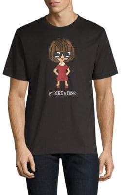 Mostly Heard Rarely Seen Glossy Graphic T-Shirt
