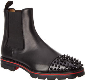 Christian Louboutin Melon Leather Chelsea Boot