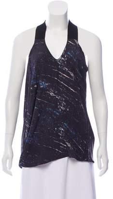 Zero Maria Cornejo Silk Printed Tunic