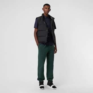 Burberry Short-sleeve Stretch Cotton Shirt
