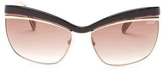 Emilio Pucci 61mm Cat Eye Sunglasses