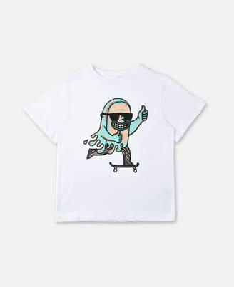 Stella McCartney arrow skate print t-shirt