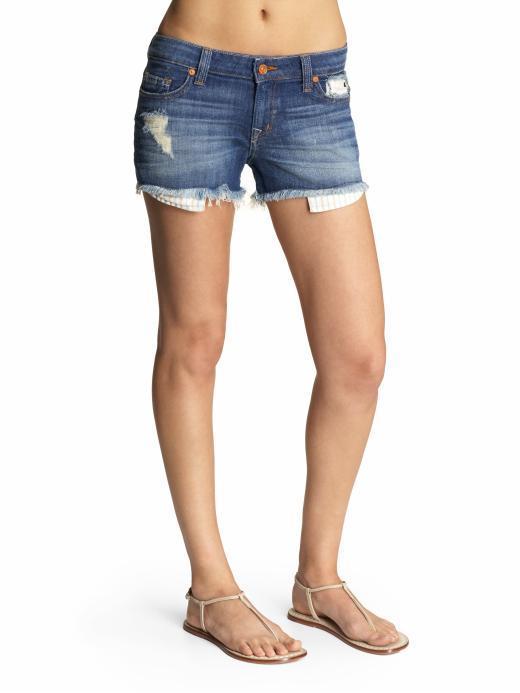 Raven Denim Logan Cut-off Shorts