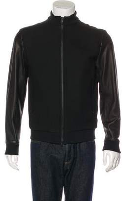 Theory Wool-Blend Letterman Jacket w/ Tags