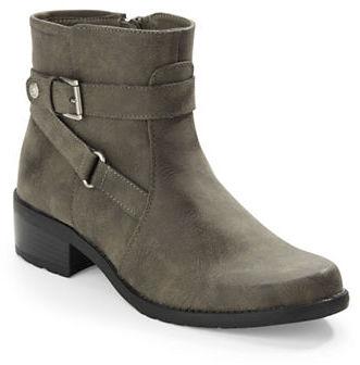 Anne KleinAnne Klein Lynzee Buckle Ankle Boots