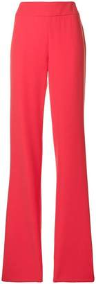 Emporio Armani high-waisted flared trousers