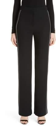 St. John Solid Heavy Georgette Pants
