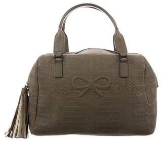 Anya Hindmarch Quilted Leather Duffel Bag