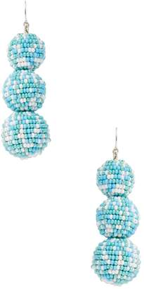 Deepa Gurnani Women's Ball Beaded Statement Earrings