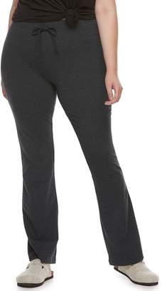 ece70a9008907 So Juniors' Plus Size SO Tie-Waist Skinny Bootcut Yoga Pants