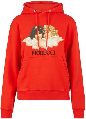 Fiorucci Vintage Angels hooded sweatshirt
