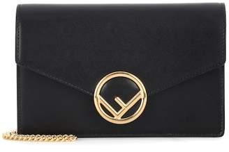 Fendi Wallet on Chain leather shoulder bag