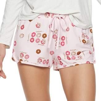 So Juniors' SO Printed Dolphin Hem Shorts