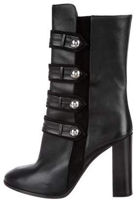 Isabel Marant Arnie Leather Mid-Calf Boots