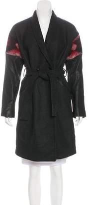 Diesel Sophia Wool Coat w/ Tags