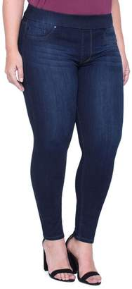 Liverpool Sienna Pull-On Stretch Ankle Jeans