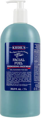 Kiehl's Facial Fuel Energizing Face Wash Gel Cleanser for Men, 1 L