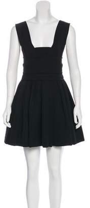 Preen by Thornton Bregazzi Pleated Mini Dress
