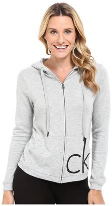 Calvin Klein Underwear Lounge Hoodie $59 thestylecure.com