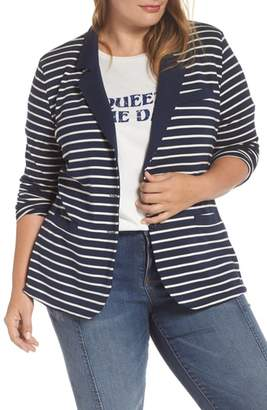 Tart Stripe Knit Blazer