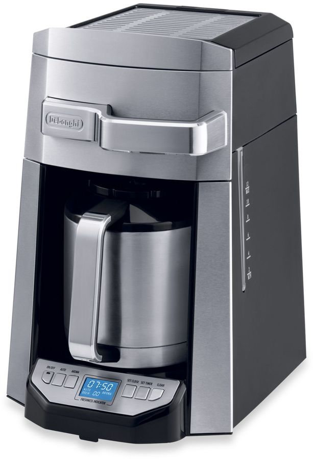 De'Longhi 12-Cup Drip Coffee Maker with Complete Front Access