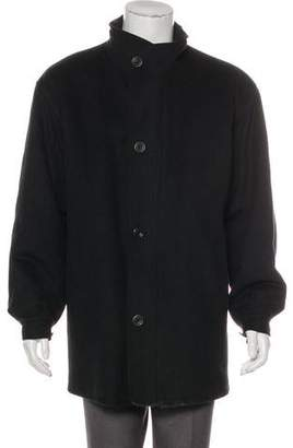 Saks Fifth Avenue Wool Button-Up Jacket