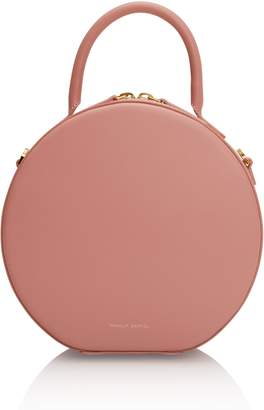 Mansur Gavriel Circle Crossbody in Coral