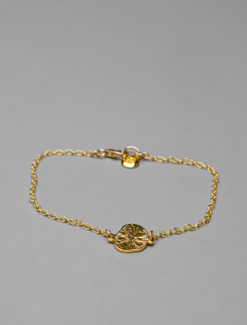 Gorjana Sand Dollar Charm Bracelet