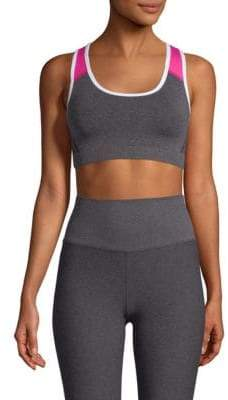 Phat Buddha Columbus Circle Colorblock Sports Bra