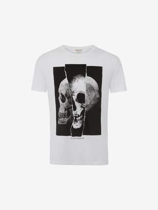Alexander McQueen Torn Skull T-Shirt