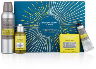 L'Occitane NEW Energizing Cedrat For Men Gift Set