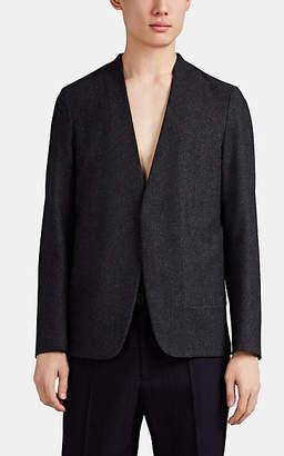 Maison Margiela Men's Wool Open-Front Sportcoat - Light Gray