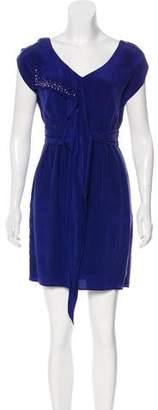 Graham & Spencer Studded Silk Dress