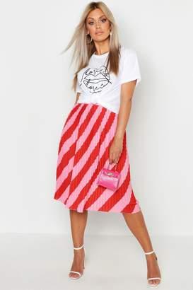 cbf15bfac54 Pink Stripe Skirt - ShopStyle UK