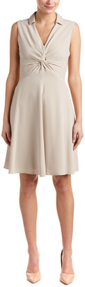 Karen Millen Knotted A-Line Dress