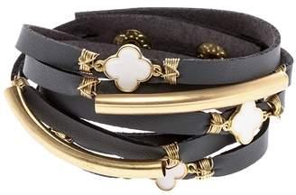 Twos Company Two's Company Double Wrap Bracelet