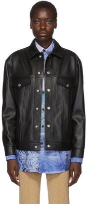 Acne Studios Black Bla Konst Leather 2000 Jacket